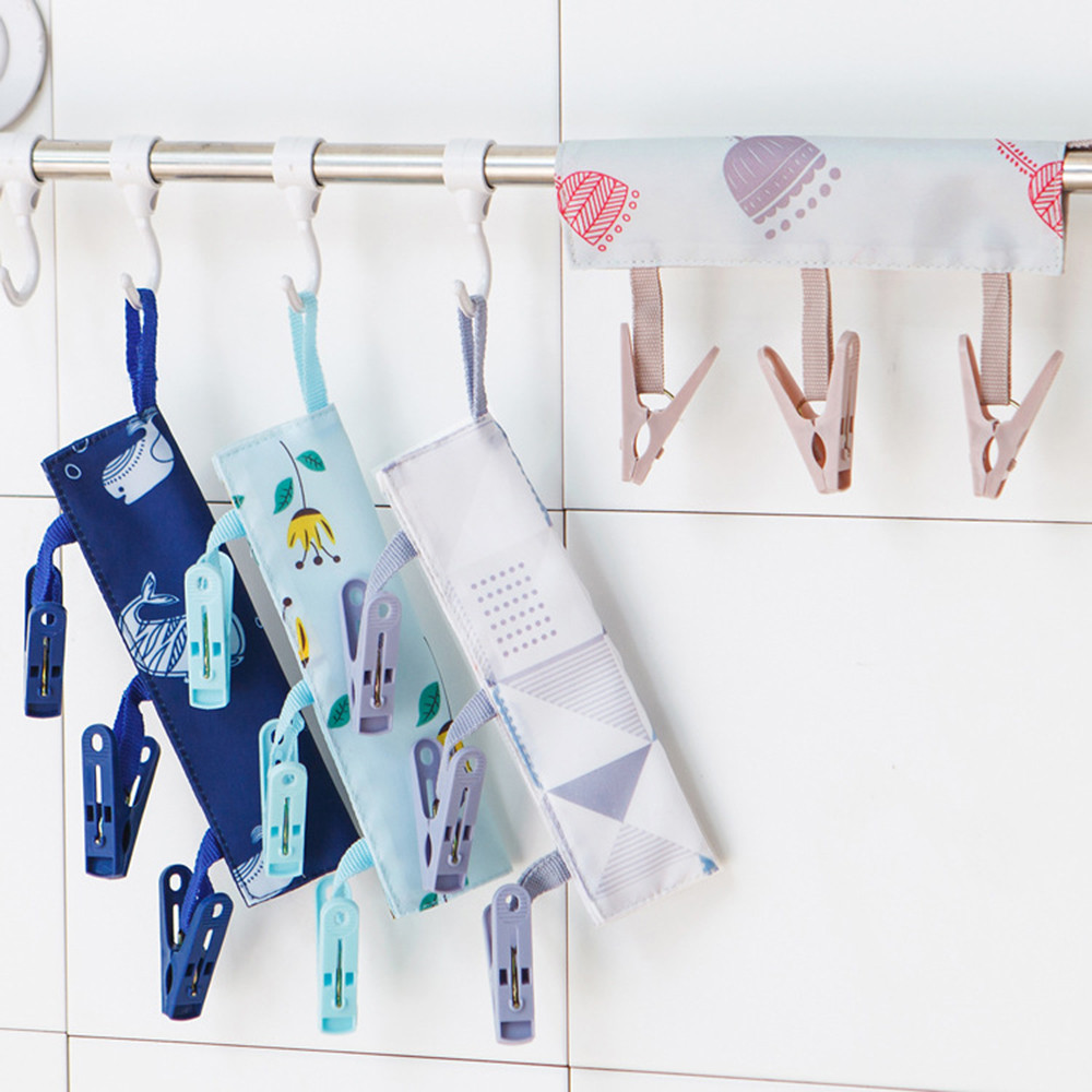 Новые популярные 34 см Портативный носки сухой тканью подвеска стойка ткань резак Бизнес путешествия Портативный складной ткань вешалка кл...