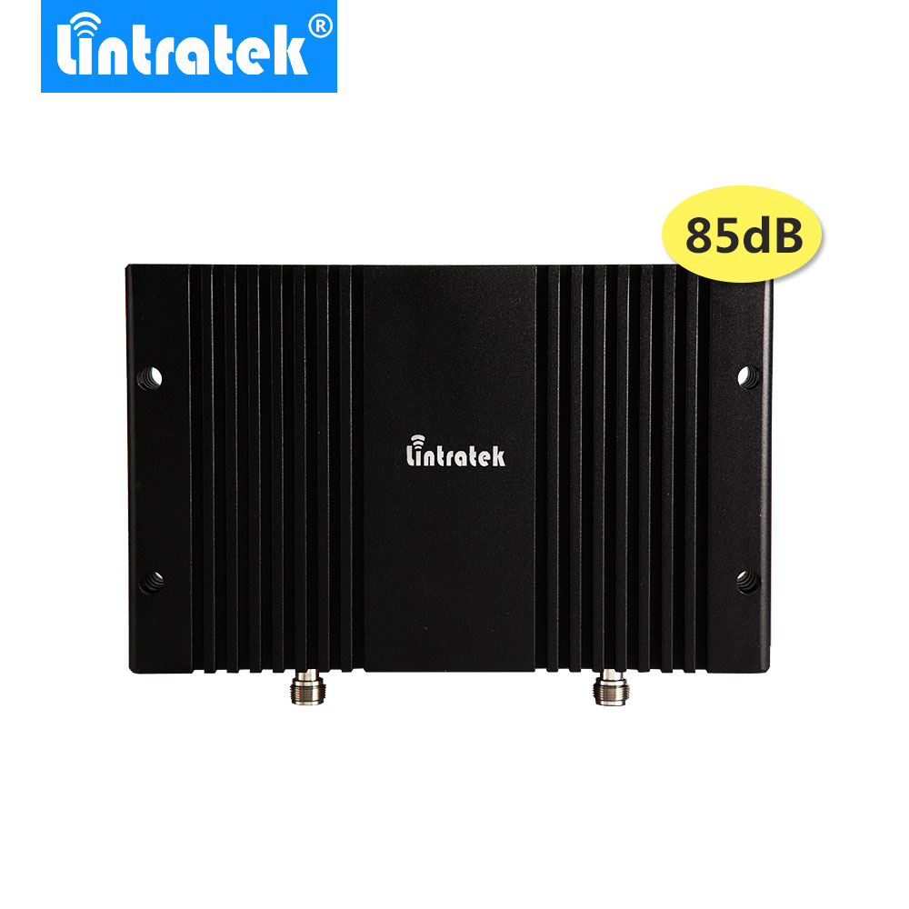 Lintratek 4G Cell Phone Signal Booster 1800mhz 85db Repetidor 4G LTE 1800Mhz LCD Display AGC MGC 33dbm GSM 1800 4G Repeater /