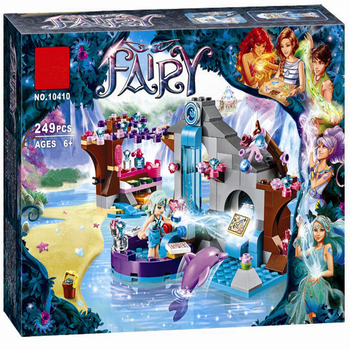 BELA 10410 Girl Naida Secret Spa Fairy Elves Building Blocks Toys Compatible Lepinblocks Set Friends 41072 for girls best gift