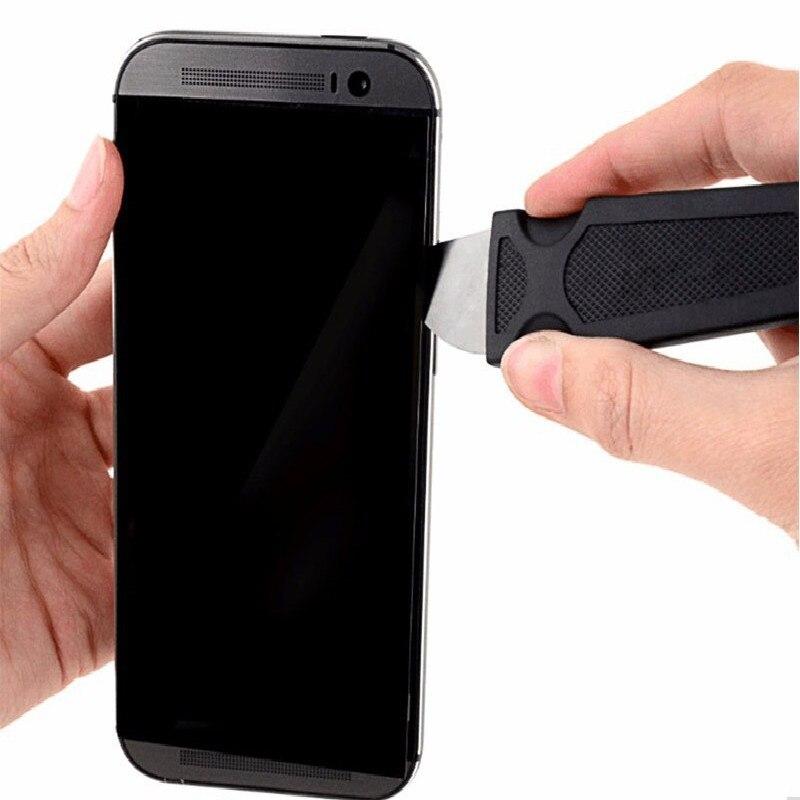 1Pcs/set Metal Flat Spudger Soft Blade Pry Bar Open Repair Tool kit for Mobile Phone Electronic Broken screen Glue Removal