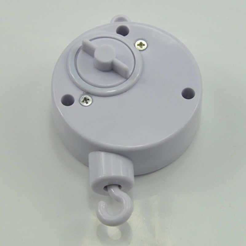 1 Набор детских игрушек белый мобиль на кроватку набор мобиль для детской кроватки зажим прикроватная игрушка-колокольчик держатель с опорой заводная Музыкальная шкатулка