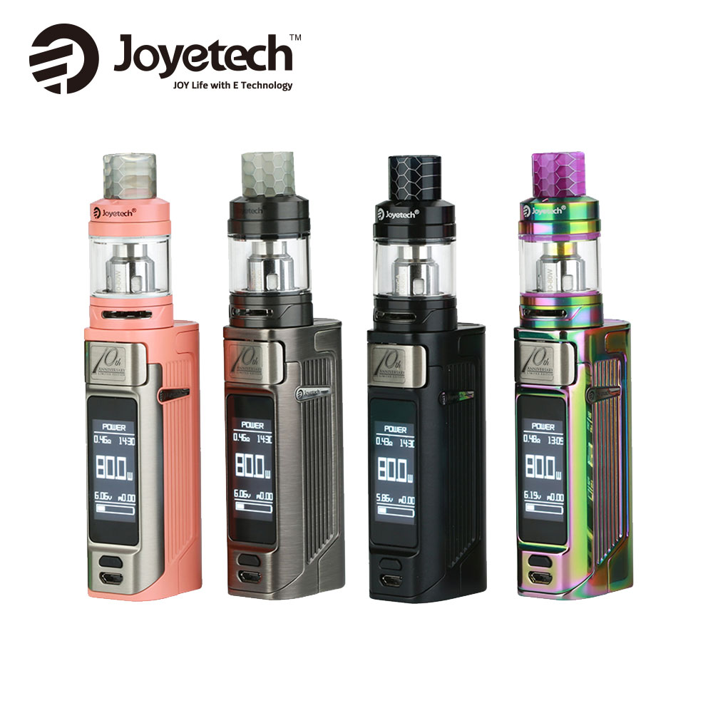 New Authentic 80W Joyetech ESPION Solo 21700 TC Kit with 2ml/4.5ml ProCore Air Tank & 2A Quick Charge No 18650 Battery New Kit 2017 liitokala 2pcs new protected for panasonic 18650 3400mah battery ncr18650b with original new pcb 3 7v