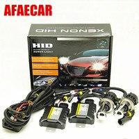 1 set 55W car 12V HID H4 High low beam light H4 3 bi xenon headlight conversion kit