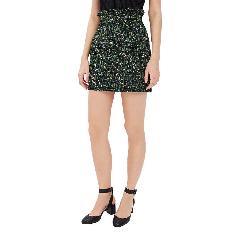 Skirts MODIS M181W00439 skirt for female TmallFS solid pleated skirt