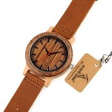 BOBO PÁSSARO Madeira Nova CbM14 Banda Projeto Original Japão Relógio de Quartzo Relógios De Pulso De Luxo para Homens na Caixa de Presente de Papel