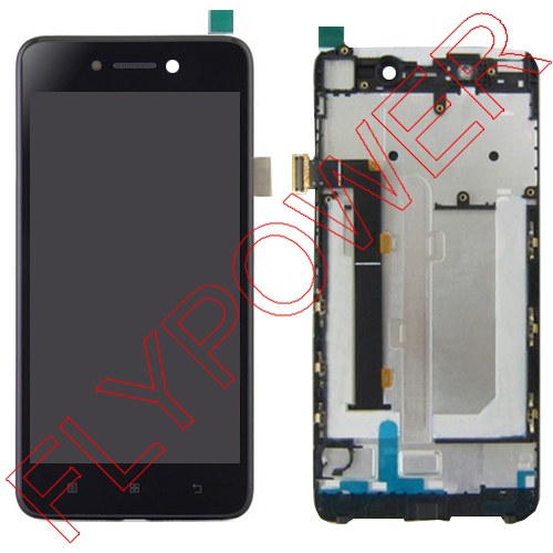 For lenovo s90 lcd screen display+touch screen digitizer and frame assembly by free shipping; black 1pcs free shipping for iphone 5c lcd display touch screen digitizer frame assembly black
