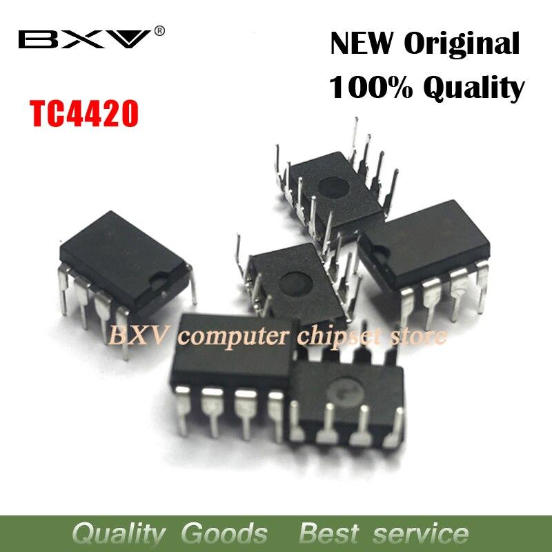 10pcs/lot TC4420EPA TC4420CPA TC4420 DIP-8