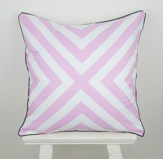 18*18 Home Decorative Retro Purple Geometry Throw Cushion Cover Pillow Case for Car Bedding almofadas para sofa