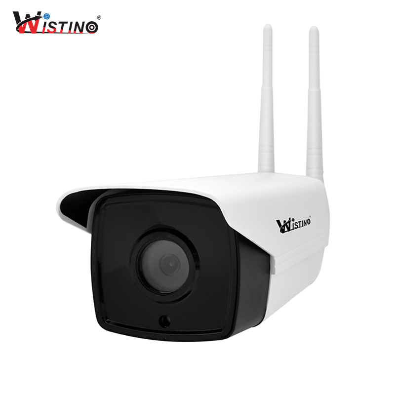 Wistino CCTV WiFi IP Camera 720P Outdoor Security Camera Bullet Waterproof Surveillance Camera Wireless Network Night Vision 1MP wistino metal housing cover case new ip66 cctv camera outdoor use casing waterproof bullet for ip camera hot sale white color