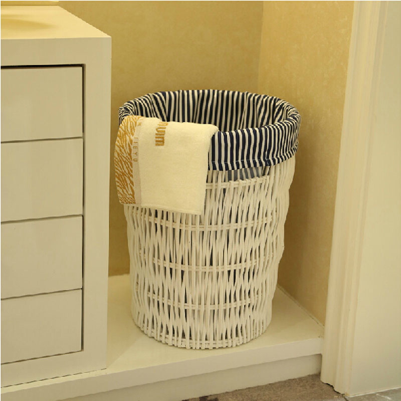 laundry basket large rattan and wicker laundry baskets storage dobr vel cesto de roupa suja laundry basket for clothes dirty in Storage Baskets from Home Garden
