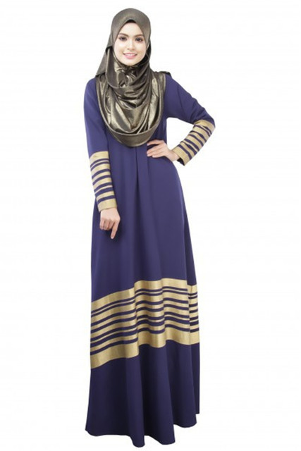 In fact Islamic clothing for women can be just about any kind of modest dress, which becomes Islamic attire, when it covers the body according to Islamic clothing guidelines and rules of modesty. Take Muslim clothing for women in a colorful direction with influences from mainstream design trends (minus the skin), and it becomes Muslim fashion.
