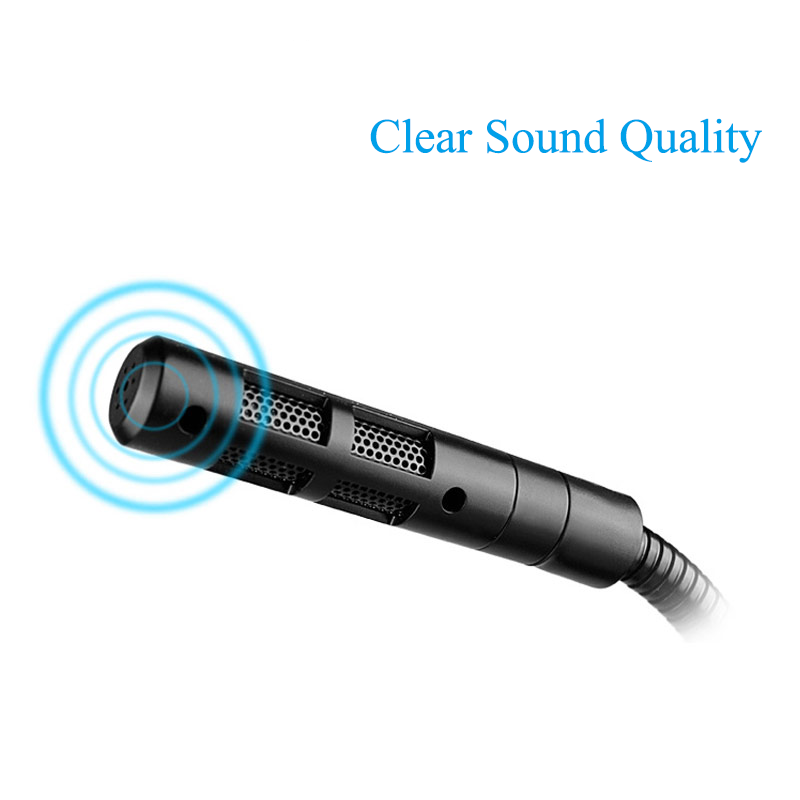 Mini Studio Speech Microphone 3 5mm Noise Cancelling