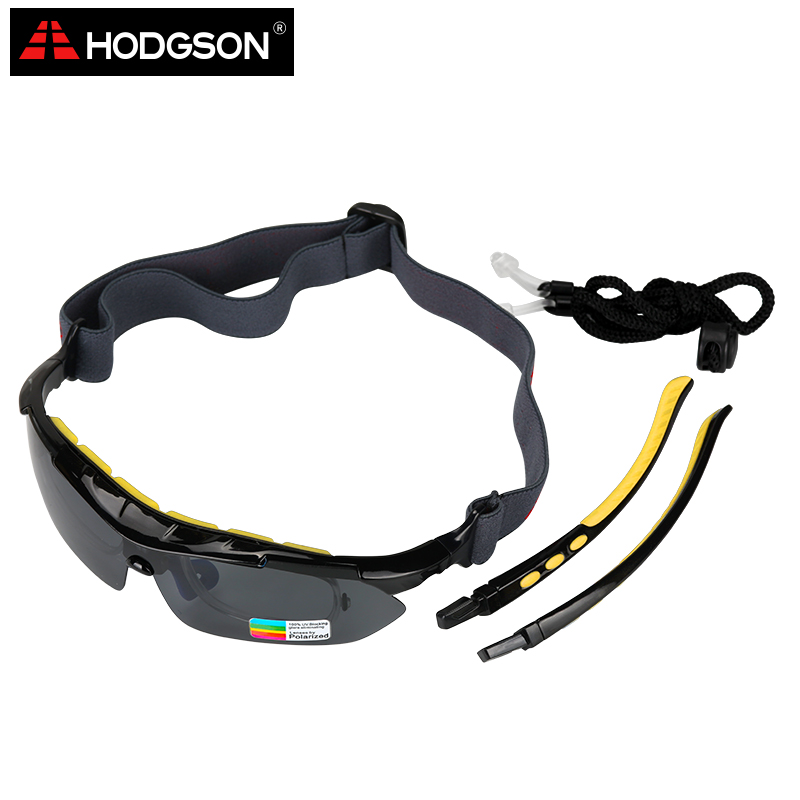 36fd96a17a6 HODGSON Cycling Glasses Polarized Bike Bicycle Sunglasses Set Yellow 5  Lenses 1 Head Strap Optical Frame UV400 Sport Sun Glasses-in Cycling Eyewear  from ...