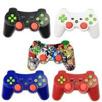 Беспроводной контроллер для PS3 SIXAXIS двойной вибрации двигателей Dualshock3 геймпад для Playstation3 с зарядом шнур