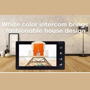 Image 5 - Dragonsview 7 Inch Video Intercom Video Door Phone Doorbell Intercom Recording Function 16GB SD Card Motion Alarm 1200TVL Unlock