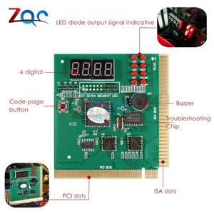 Image 3 - 4 Digit LCD Display PC Analyzer Diagnostic Card Motherboard Post Tester Computer Analysis PCI Card Networking Tools