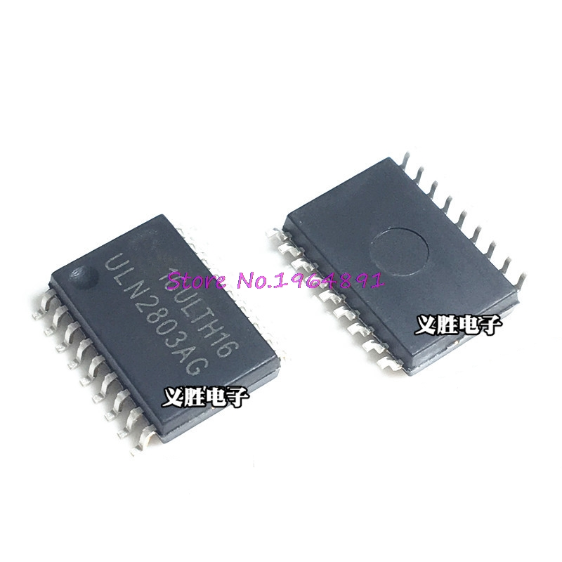 10pcs/lot ULN2803AFWG ULN2803AG ULN2803A ULN2803 SOP-18 In Stock