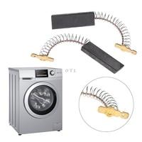 Ev Aletleri'ten Çamaşır Makinesi Parçaları'de 2 adet Motor karbon fırçalar SIEMENS yıkama makinesi için BOSCH NEFF ev aletleri aksesuarları parçaları