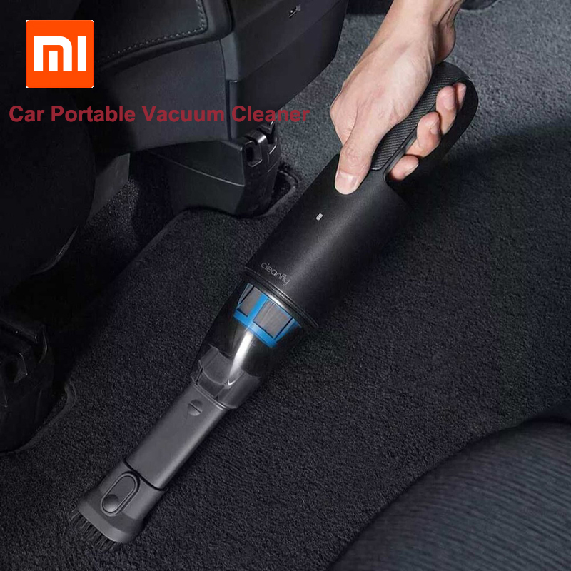 Instock Xiaomi Cleanfly FVQ Portable Car Wireless Hand Helded Vaccum Cleaner Dust Catcher Collector Strong Suction Fast Charge-in Smart Remote Control from Consumer Electronics    1