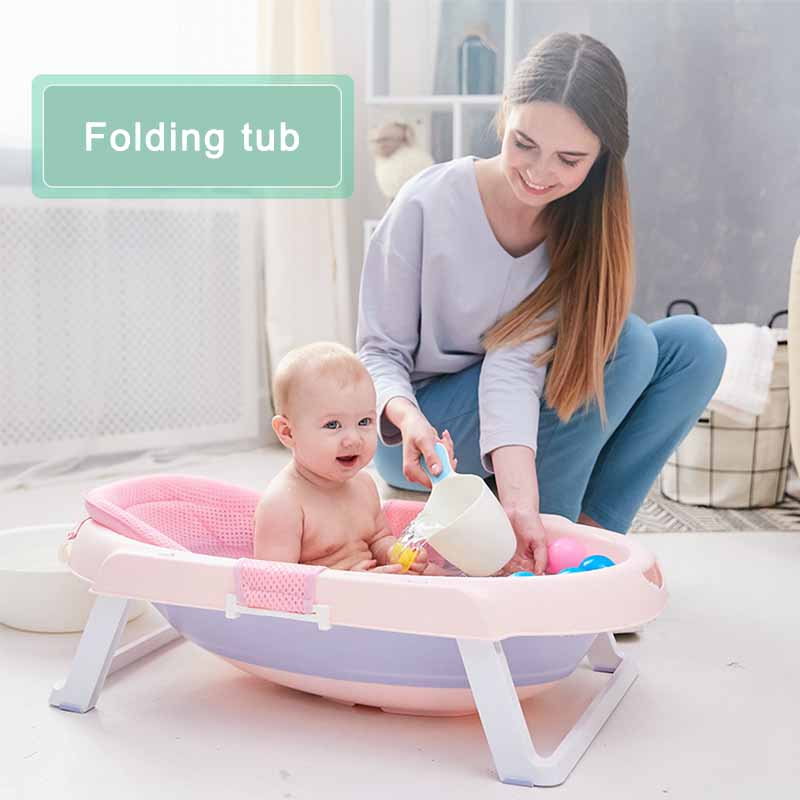 Magic Bath Baby Jacuzzi.Us 76 55 50 Off Baby Folding Tub Lovely Baby Foldable Swim Tub Parental Must Portable Baby Bath Tub Newborn Supplies Wash Basin For Baby Care In