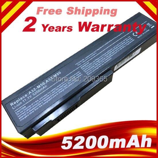 Batterie Pour Asus N53 N53D N53E N53F N53J N53JC N53JE N53JF N53JG N53JI N53JL N53JN N53JQ N53JR N53JT N53JV A32-M50 A33-M50
