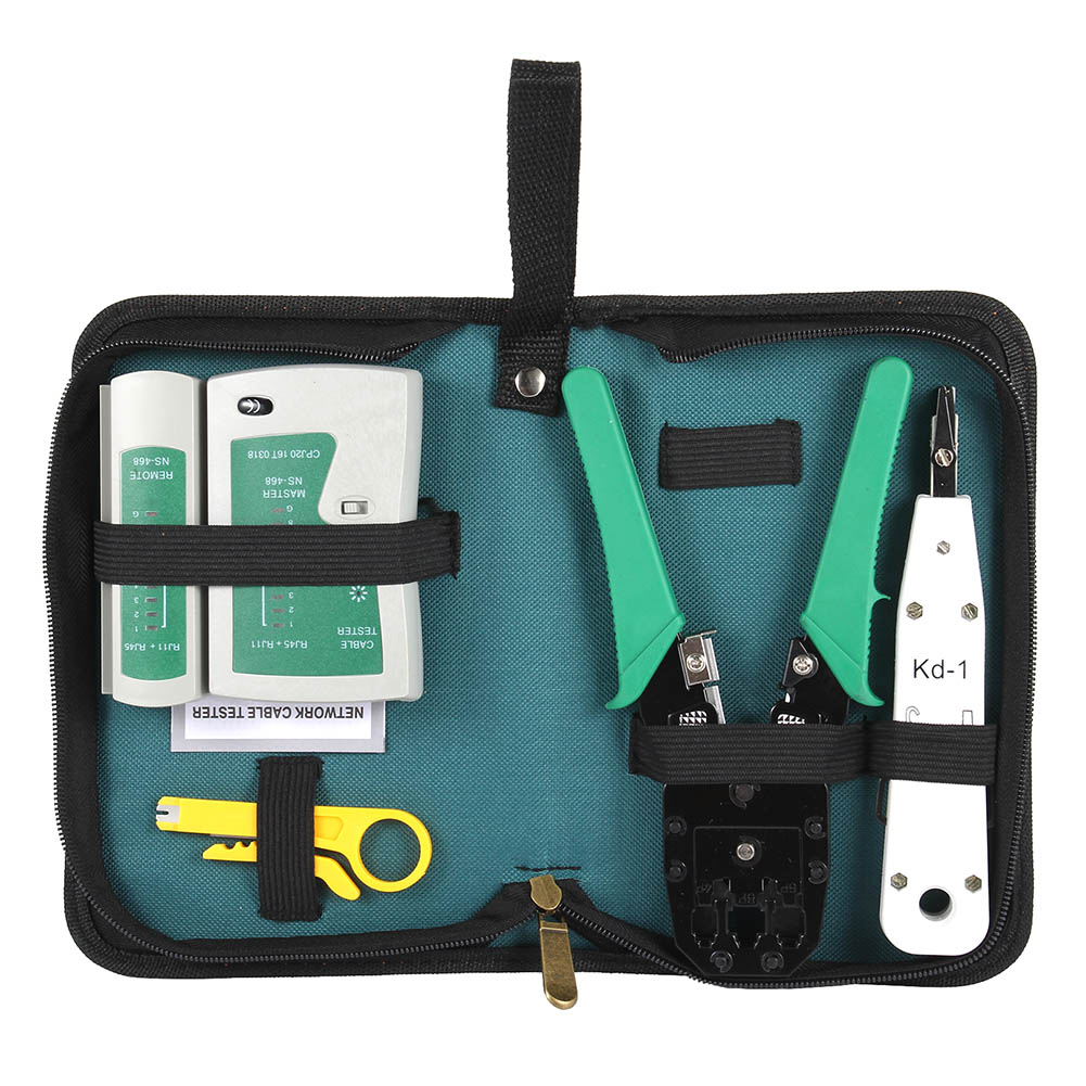 1Set Ethernet Cable Tester RJ45 Kit Crimper Crimping Tools Punch Down RJ11 Cat6 Wire Detector ALI881Set Ethernet Cable Tester RJ45 Kit Crimper Crimping Tools Punch Down RJ11 Cat6 Wire Detector ALI88