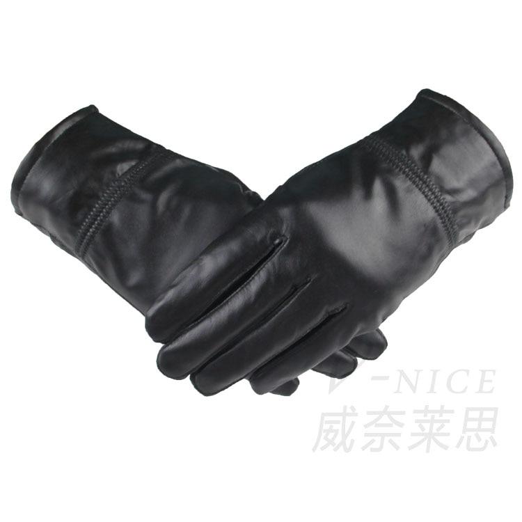 Freies Verschiffen punch Ziegenleder Pursuit Handschuhe Racing Bike Sport Radfahren motor handschuhe Vollfinger-handschuhe Größe M, L, XL