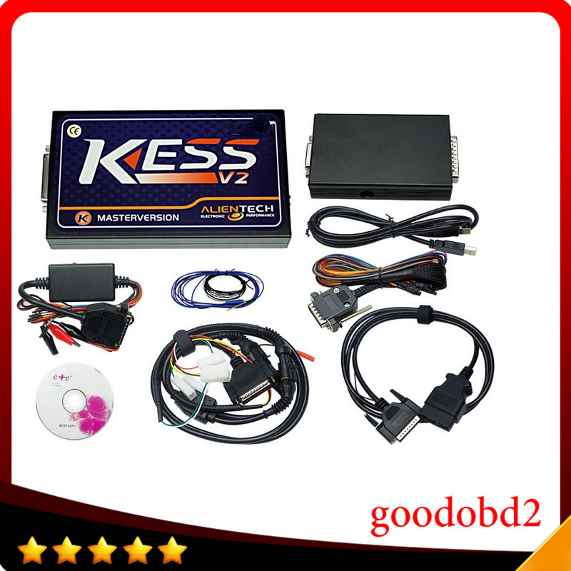 Car programmer tools KESS V2 V2.23OBD2 Manager Tuning Kit FW4.036 No Tokens Limited Master Version KESS V2 ECU chip tool unlimited tokens ktag k tag v7 020 kess real eu v2 v5 017 sw v2 23 master ecu chip tuning tool kess 5 017 red pcb online