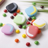 Aigo Portable Mini Clip MP3 Player Macaroon Color Design Support TF Card Stereo Music Player With