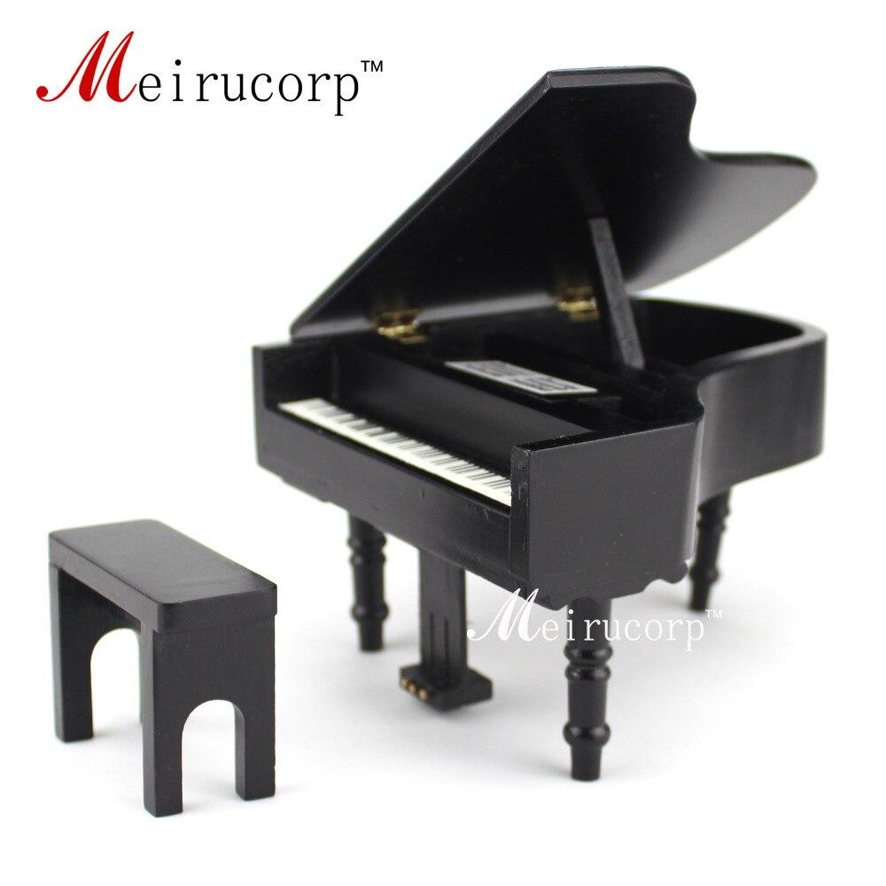 casa de muñecas 1/12 Scale Miniatures Musical Instrument Piano y - Juguetes clásicos - foto 1