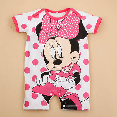d55973337ec1e US $2.98 |Newborn Mickey Baby Rompers Disney Baby Girl Clothes Boy Clothing  Roupas Bebe Infant Jumpsuits Outfits Minnie Kids Clothing-in Rompers from  ...