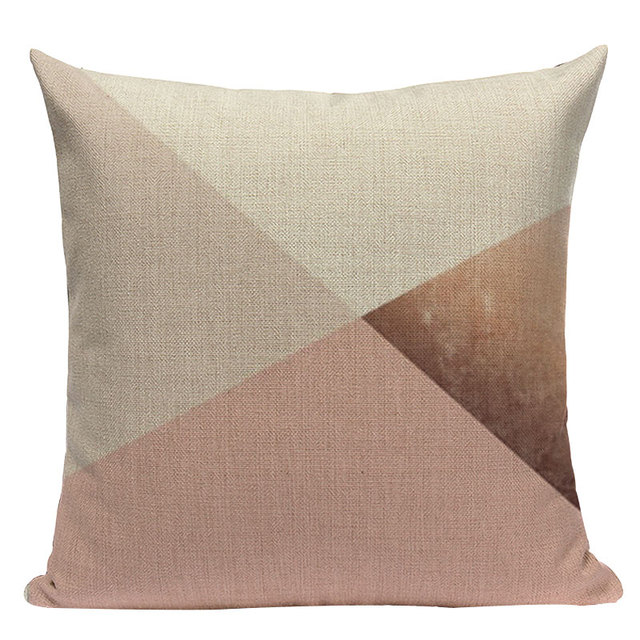 Nordic Pop Geometric Pillowcase Size: L313 Color: L313-21