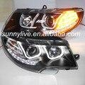 Для VW Skoda Superb из светодиодов фара ангел глаза 2009 - 2013 шт. стиль