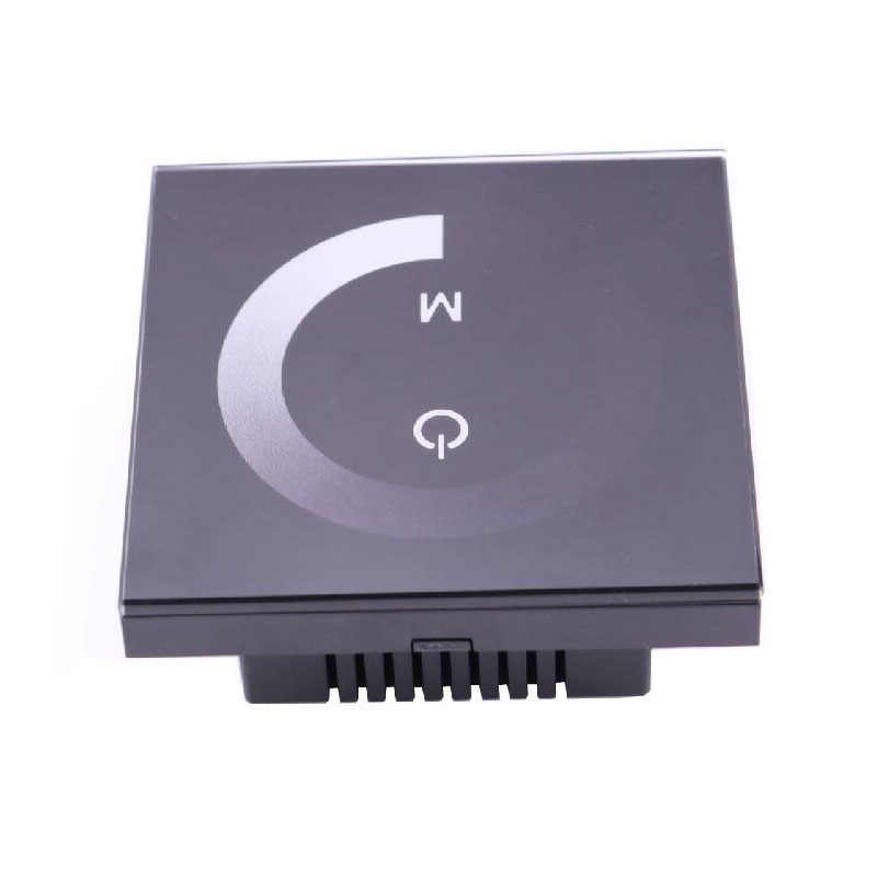 12 V 24 V LED Dimmer Switch Full Touch Panel Turn ON OFF Brightness Adjustable for 12V Single Color LED Light Strip Profile Lamp