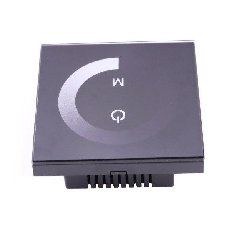 12 V 24 V LED Dimmer Switch Full Touch Panel Turn ON OFF Brightness Adjustable For 12V Single Color LED Light Strip Profile Lamp