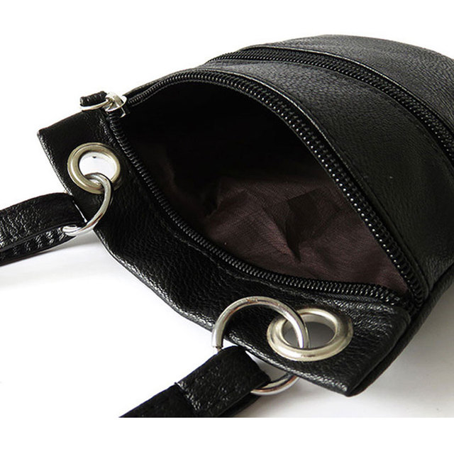 Women Pu Messenger Bags Vintage Mini Ladies Crossbody Bag Fashion Sling Bag for Women Coin Purse 3