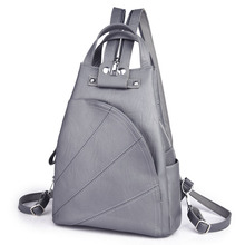 2018 Women Anti-theft Backpacks Leather Ladies Vintage Shoulder Bags Bagpack Preppy Multifunction Backpacks For Girls Mochilas