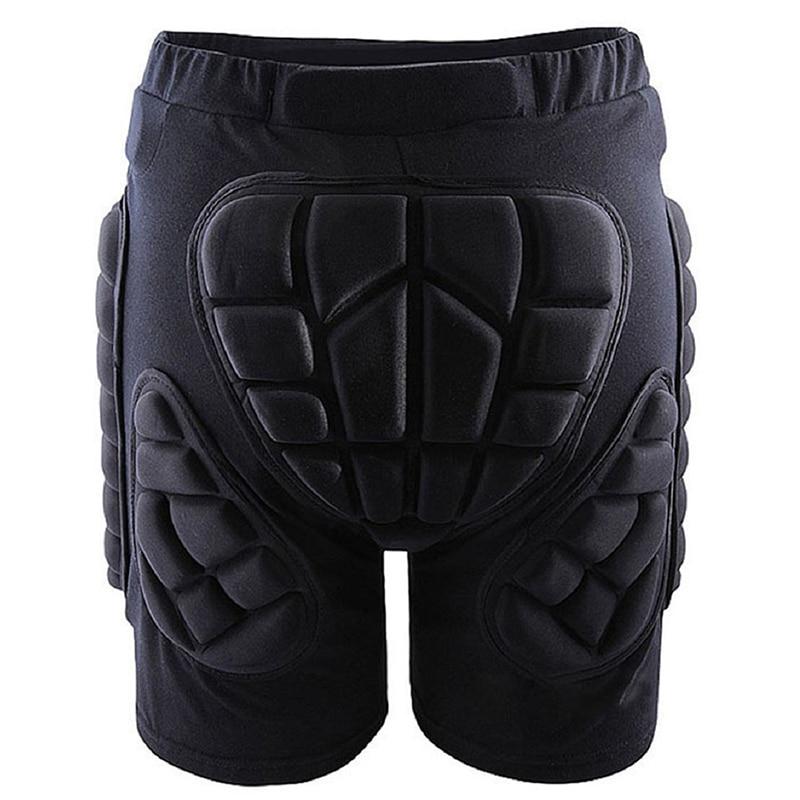 Outdoor Gear Hip Protective Shorts Skate Skating Snowboard Pants, Black L