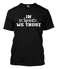 2017 Fashion funny casual Man Tops tees In Science We Trust – Geek Men's T-shirt 100% Cotton Shirts