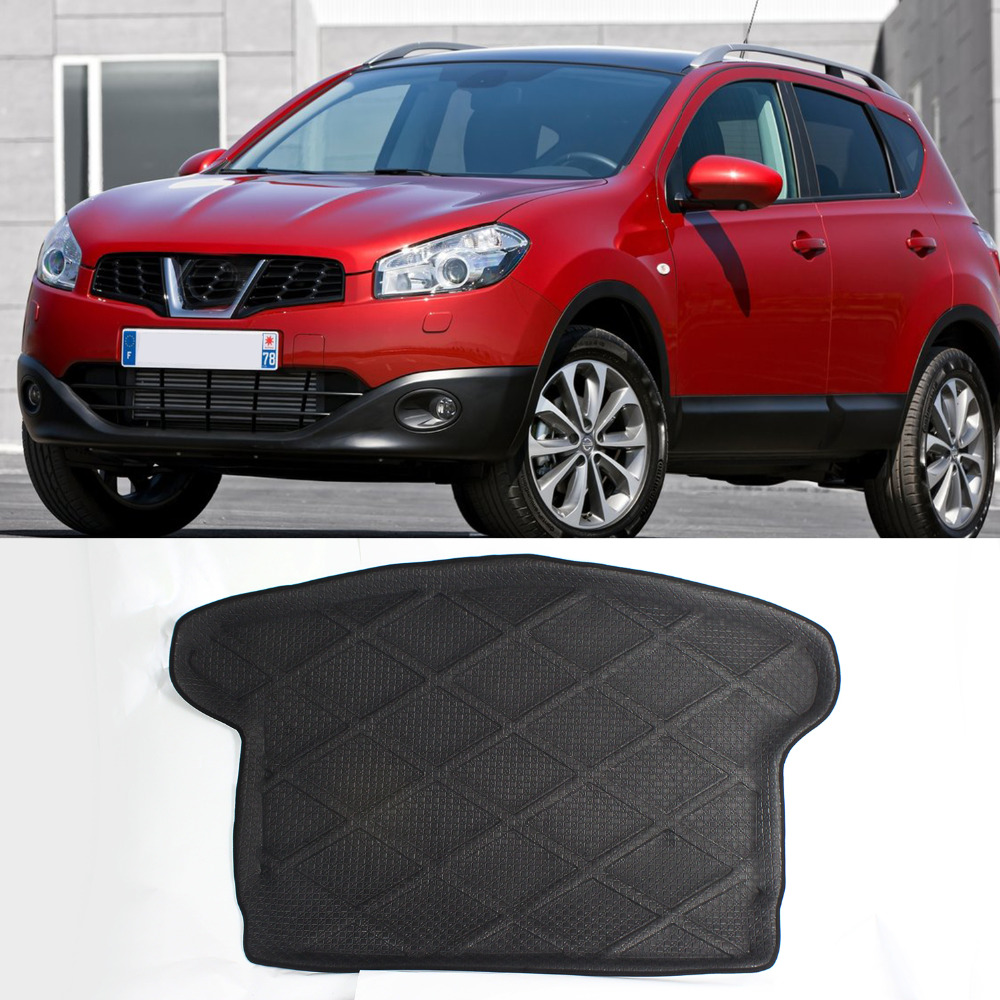 Floor mats qashqai - High Quality 3d Heavry Duty Rear Tail Car Truck Cargo Mat Tray Liner Black Waterproof Dustproof