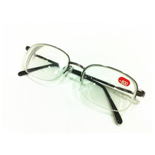Металлическая полуоправа, унисекс, близорукая близорукость, очки для чтения, полуоправа, сплав, близорукие очки от-450 до-1000