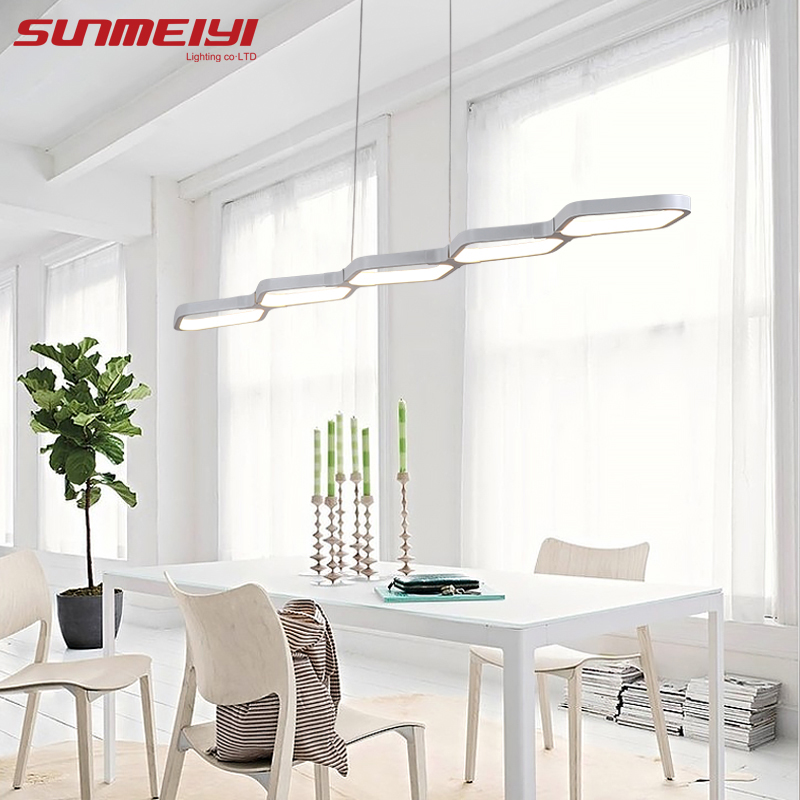 Modern Led Pendant Lamps Living Room Acrylic Fixture Restaurant Bedroom Decorative Pendant Lights Lamparas Home Lighting Lampe european contracted pendant lights skirt tail aluminium droplight household decorative home restaurant decorative lighting
