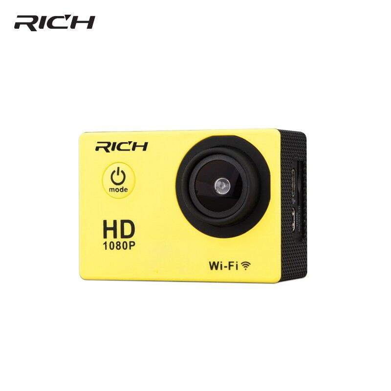 RICHE Sport Caméra HD 8MP Wifi 1080 p Action Caméra Vidéo Sous-Marine DV Mini Étanche Sport helmet caméras Caméscope