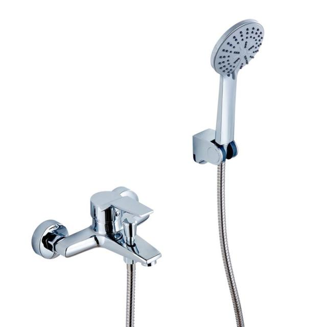 HDM Bathroom Accessories Shower Sets Bathroom Faucet Brass Modern Handheld  Shower Head Cold And Hot Water