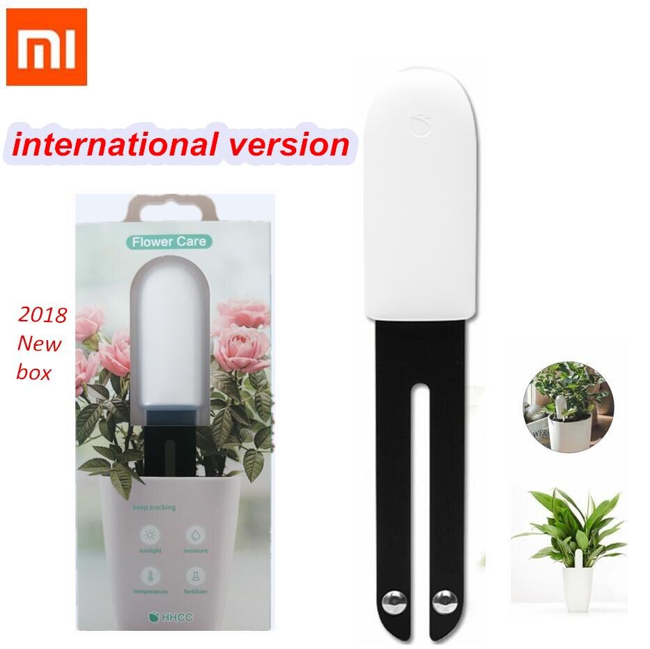 New Xiaomi Mi Flora Monitor Digital Plants Grass Flower Care Soil Water Light Smart Tester Sensor Original International Version