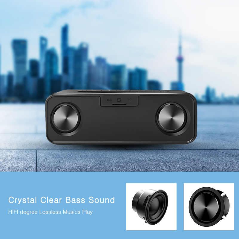 MIFA A20 Bluetooth Speaker Metal Portable Super Bass Wireless speaker Bluetooth4.2 3D Digital Sound Loudspeaker Handfree MIC TWS