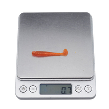 100Pcs Soft Bait 5cm 0.7g 10 Color Fishing Lure Worm Shad Silicone Baits Isca Artificial Para Pesca Leurre Peche Wobblers ST-200