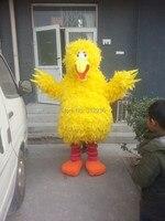 Livraison Gratuite Costume De Mascotte de Bande Dessinée Costume de Personnage De Mascotte Cosplay Produits Personnalisés sur mesure Sesame Street Big Bird