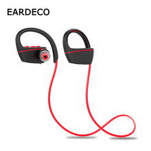 EARDECO IPX7 Waterproof for Swimming Wireless Headphones Bass Bluetooth Earphone Headphone Sport Earphones Headset with mic