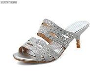 נעלי פרדות נעלי נשים חדשות 2017 קיץ 5 ס